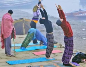 Yoga and meditation in Varanasi